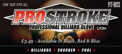 Prostroke Billiard Gloves