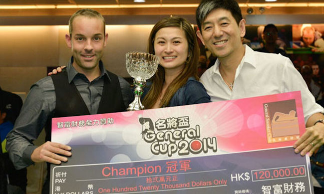 Ali Carter Wins the 2014 General Cup