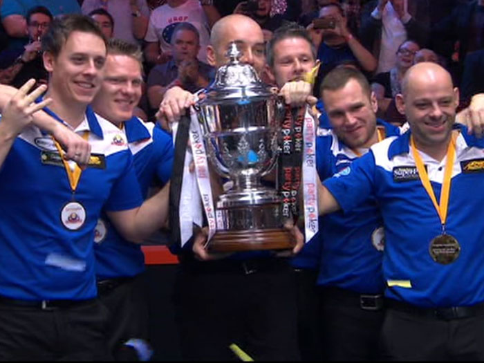 Europe storms to yet another Mosconi Cup