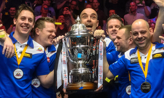Europe storms to yet another Mosconi Cup victory