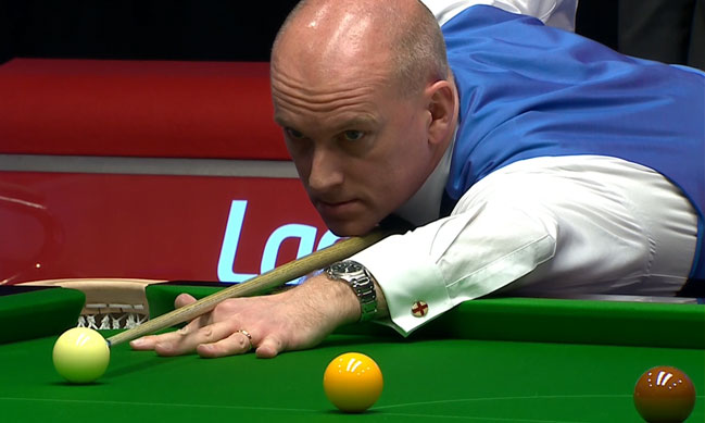 Peter Ebdon Eliminates Neil Robertson in the Opening Match