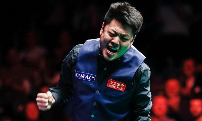 Liang Wenbo Claims First Ranking Title with the 2016 Coral English Open