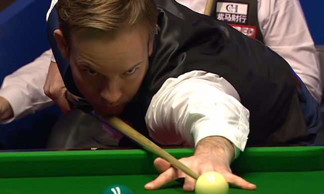 Ali Carter and Marco Fu in to Last 16