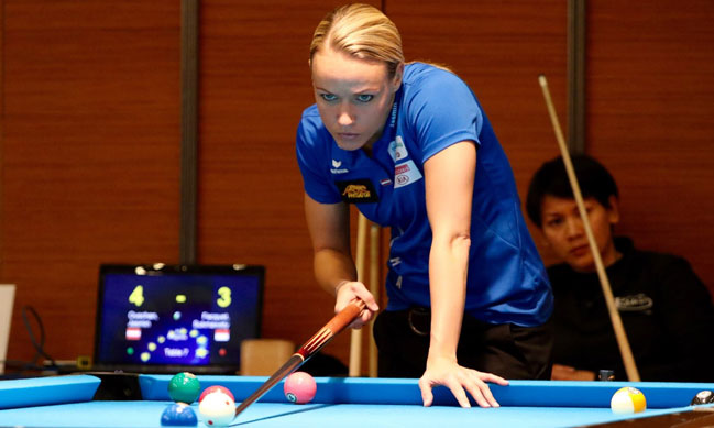 Jasmin Ouschan Wins Womens Eurotour Treviso Open